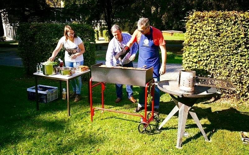 BBQ bij Monte-Rosa