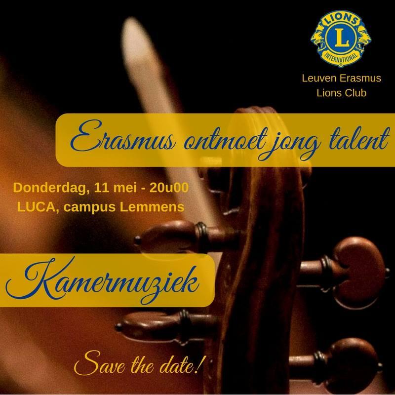 Erasmus ontmoet Jong Talent